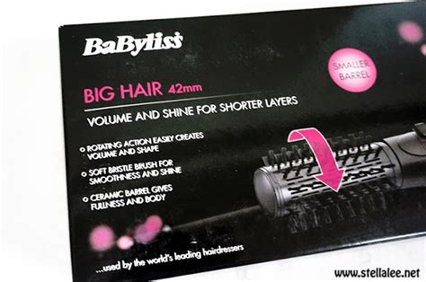 Hair Dryer Babyliss Indonesia babyliss big hair 42mm and pearson hair brush