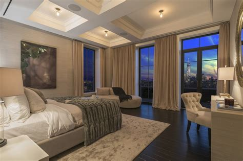 two sophisticated luxury apartments in ny includes floor 纽约的两个复杂的豪华公寓 包括平面图 简书