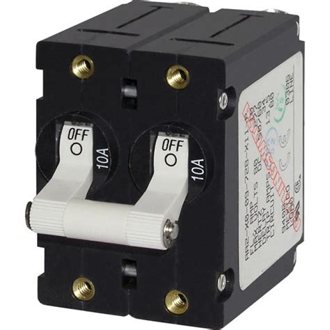Sale 6a Circuit Breaker Push Button Protector blue sea systems ce world pole circuit breakers for 110v ac west marine
