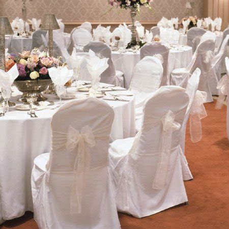 white wedding chair cover  folding chairs