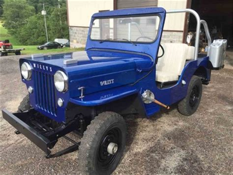 willys jeep for sale 1955 willys jeep sj3b for sale classiccars com cc 890255