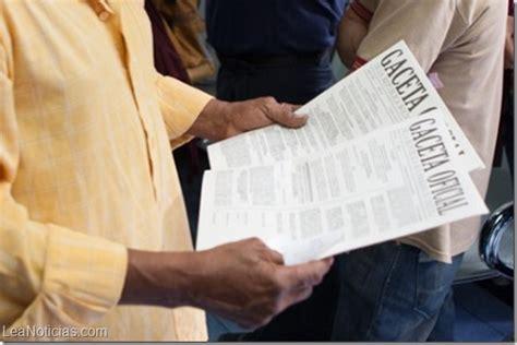 sueldos para obreros venezuela ajustan escala general de sueldos para obreros