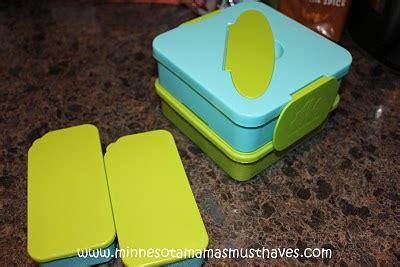 Kotak Obat 2 Susun Biru Metalik Annabel Karmel Decker Meal Box