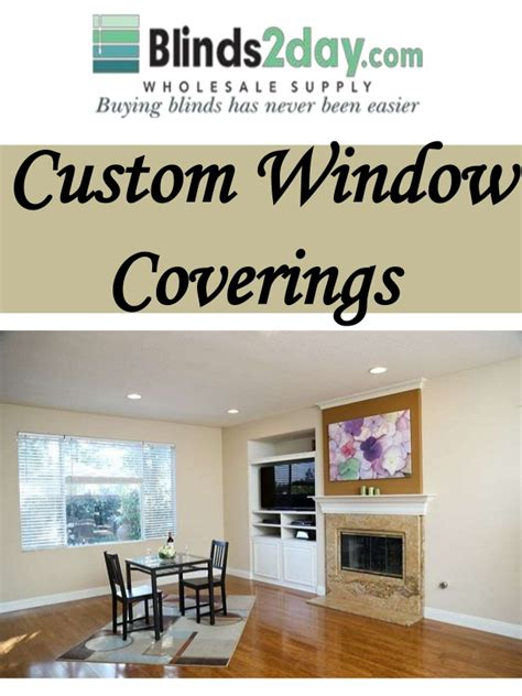 Custom Window Coverings by Custom Window Coverings