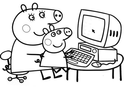 peppa pig coloring pages peppa coloring book online get this online peppa pig coloring pages 83386