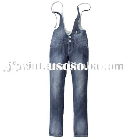 Boot Cut Denim Suspender casual casual manufacturers in