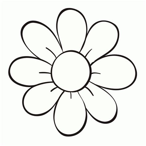 imagenes en blanco para colorear de flores dibujos de flores para colorear y imprimir