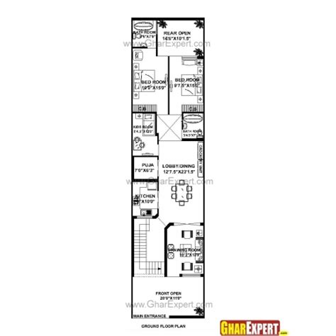 house design 15 x 60 fascinating house plan 30 x 60 design ideas plans east