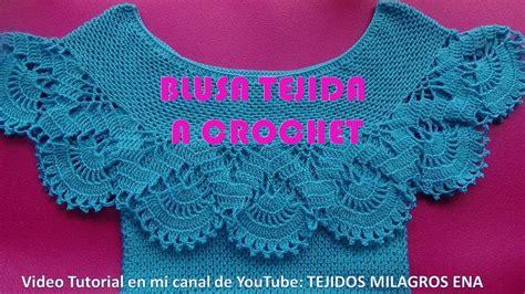 blusa tejida a crochet para verano parte 1 de 2 blusa tejida a crochet para verano parte 1 de 2