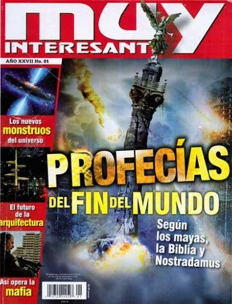 imágenes muy interesantes portada de la revista muy interesante sobre las profecias