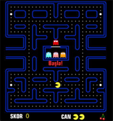 pacman oyna pacman 1980 pac namco flash oyna