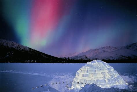 aurora borealis igloo photo information