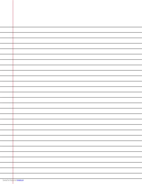 free printable vertical handwriting paper narrow ruled lined paper on legal sized paper in landscape