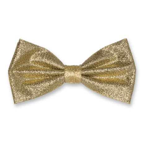 cheap bow ties polyester bow tie gold glitter