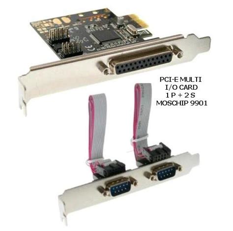 Jual Tv Tuner Pci Express pci express x1 i o parallel serial card bafo toko sigma