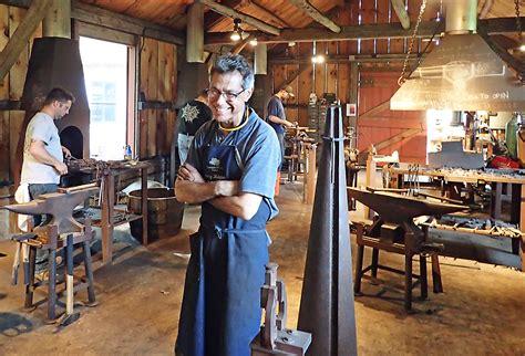 blacksmithing sanborn mills farm