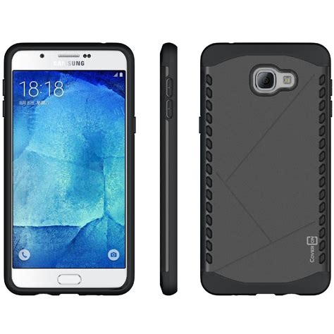 Samsung Galaxy A9 Pro Iron Soft Armor Stand Casing Cover coveron for samsung galaxy a9 slim hybrid armor tough phone cover ebay