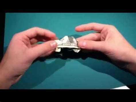 Origami Money Car - how to fold a dollar origami car designed by superfolder1