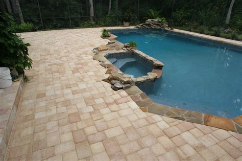 paver pool deck pool deck paver from orlando brick pavers inc in orlando