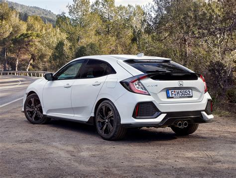 honda civic honda civic hatchback 2017 features equipment and