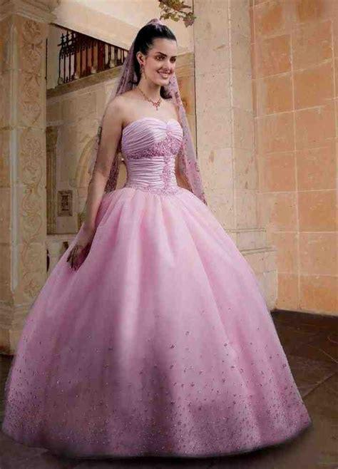 01 Princess Dress pink princess wedding dress wedding and bridal inspiration