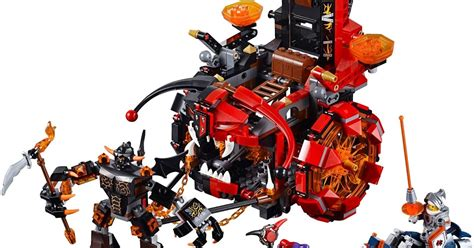 Lego Nexo Knights Lances Mobile Sy729b review lego nexo knights jestro s evil mobile the test pit