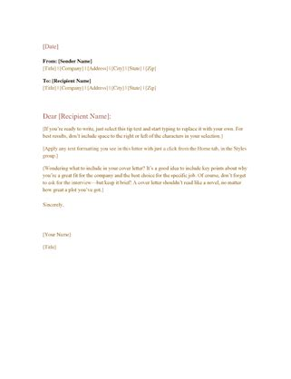 valid college job letter format newerasolutions co