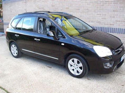 Kia Carens Black Used Kia Carens 2008 Model 2 0 Crdi Ls 5dr Diesel Estate