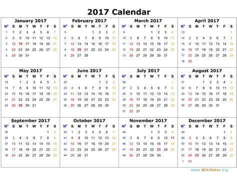 printable calendar q4 2017 free calendar 2017 printable template pdf calendar 2017