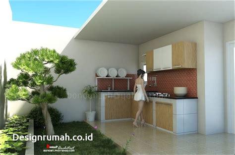 dapur terbuka belakang rumah desainrumahidcom