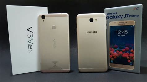 Samsung Vivo by Vivo V3 Max Vs Samsung J7 Prime Ultimate Comparison