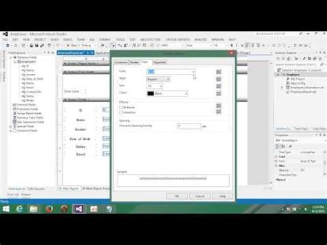 tutorial visual basic net visual basic net tutorial with mysql database 25 designing