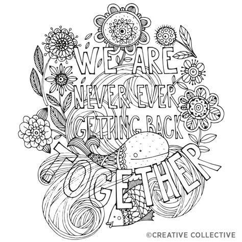 coloring pages  creative collective adult coloring worldwide