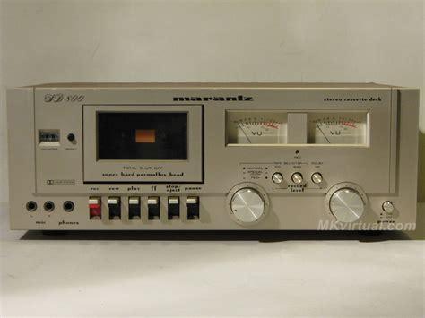 marantz cassette marantz sd 800 cassette deck