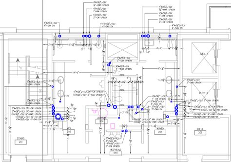 Plumbing Drawing by Revitmart 3d Shop Drawings By Industry Experts