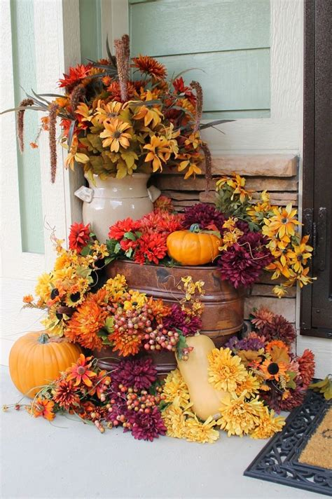 autumn decorations home 25 best ideas about fall front porches on