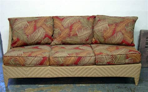 tropical couch tropical pattern patio sofa