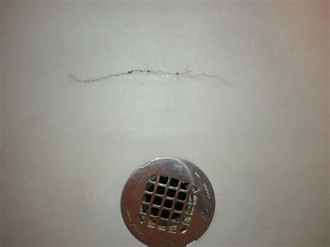 Cracked Shower Pan by