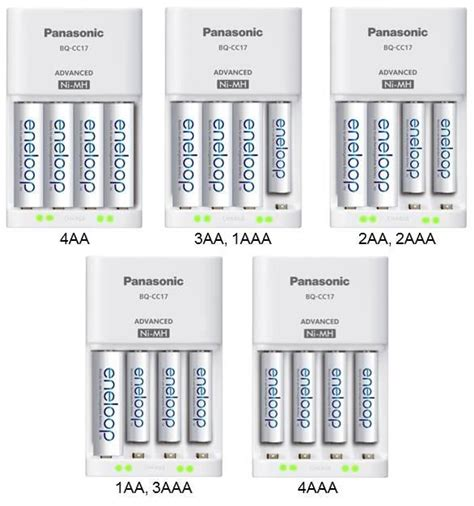 Advanced Charger Sanyo Eneloop For Aa And Aaa Battery Tanpa T2909 panasonic advanced individual cell battery charger with eneloop aa new 2100 cycle