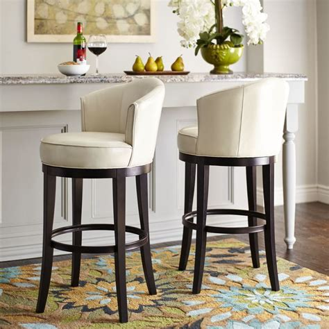 25  best Swivel Bar Stools ideas on Pinterest   Rustic bar stools, High back bar stools and