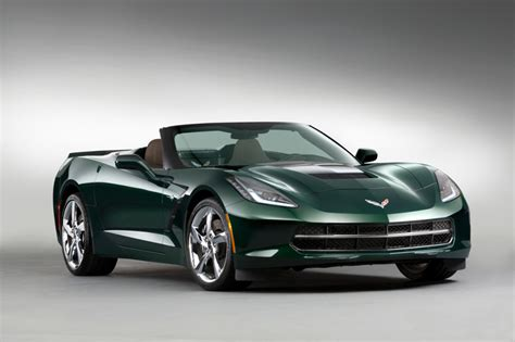 corvette stingray green gm announces new premiere edition with lime rock green