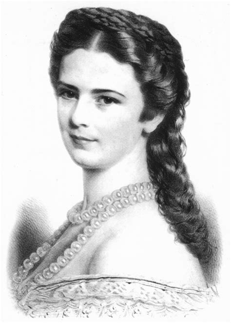 austrian hair gallery 1867 sissi wearing a pearl necklace grand ladies gogm