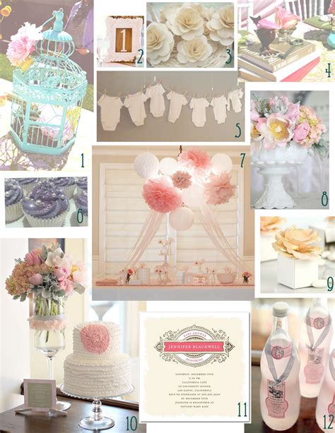 themes girl baby shower canvas events blog 187 baby showers