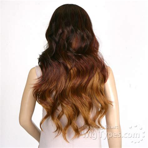 Rukiya Syari model model part synthetic lace front wig mikaela