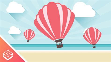 inkscape tutorial airplane inkscape tutorial hot air balloon youtube