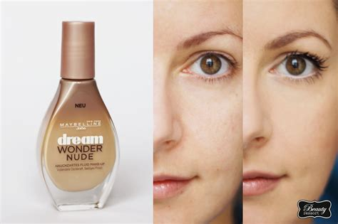 wondering how to make up review maybelline dream wonder nude fluid make up