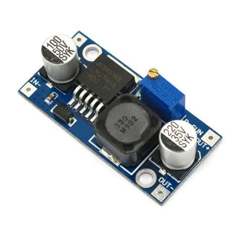Module Dc Dc Step Buck Converter 2a Lm2596 Dengan Led Display lm2596 dc dc buck converter step power module md0102 rees52