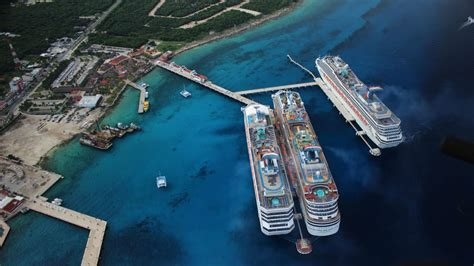 cozumel mexico cruise port new cruise terminal at caribbean s most visited port