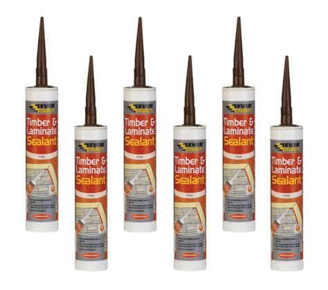 Timber Laminate Sealant 6 Everbuild Floor Gap Flexible