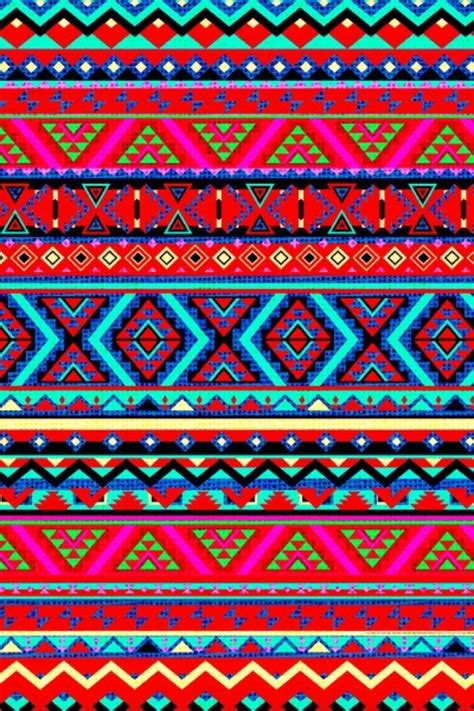 Pattern Colourful Tribal 0864 Casing For Iphone 6 Plus6s Plus Hardcas aztec wallpaper aztec wallpapers style